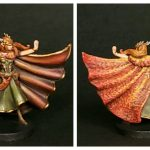 Painted Keyleth Miniature from Critical Role Kickstarter by Steamforged