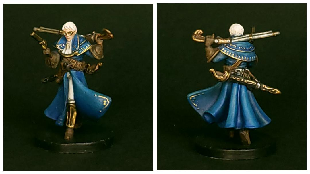 Painted Percy Miniature from the Critical Role Kickstarter by Steamforged