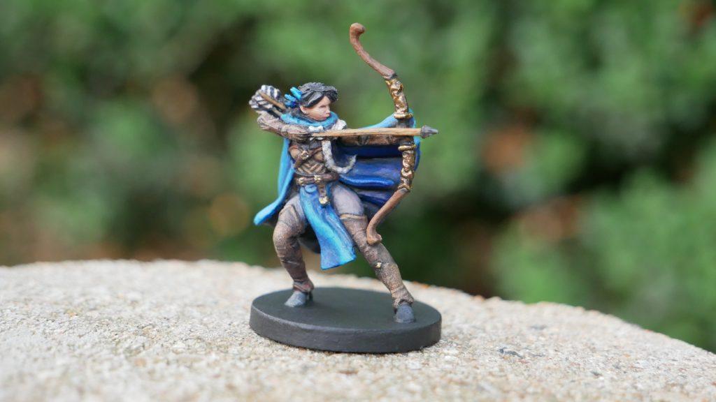 Painted Vex Miniature from Critical Role Kickstarter