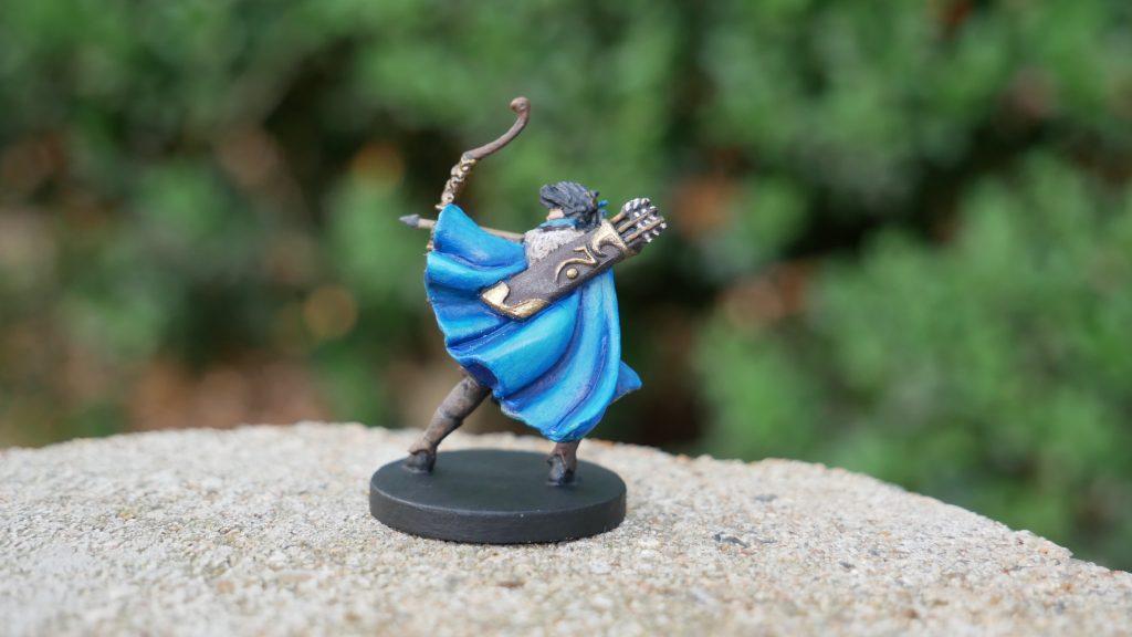 Painted Vex Critical Role Miniature Back