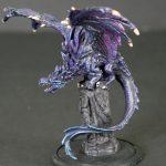 D&D Painted Purple Dragon Miniature