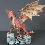 D&D Painted Red Dragon Miniature