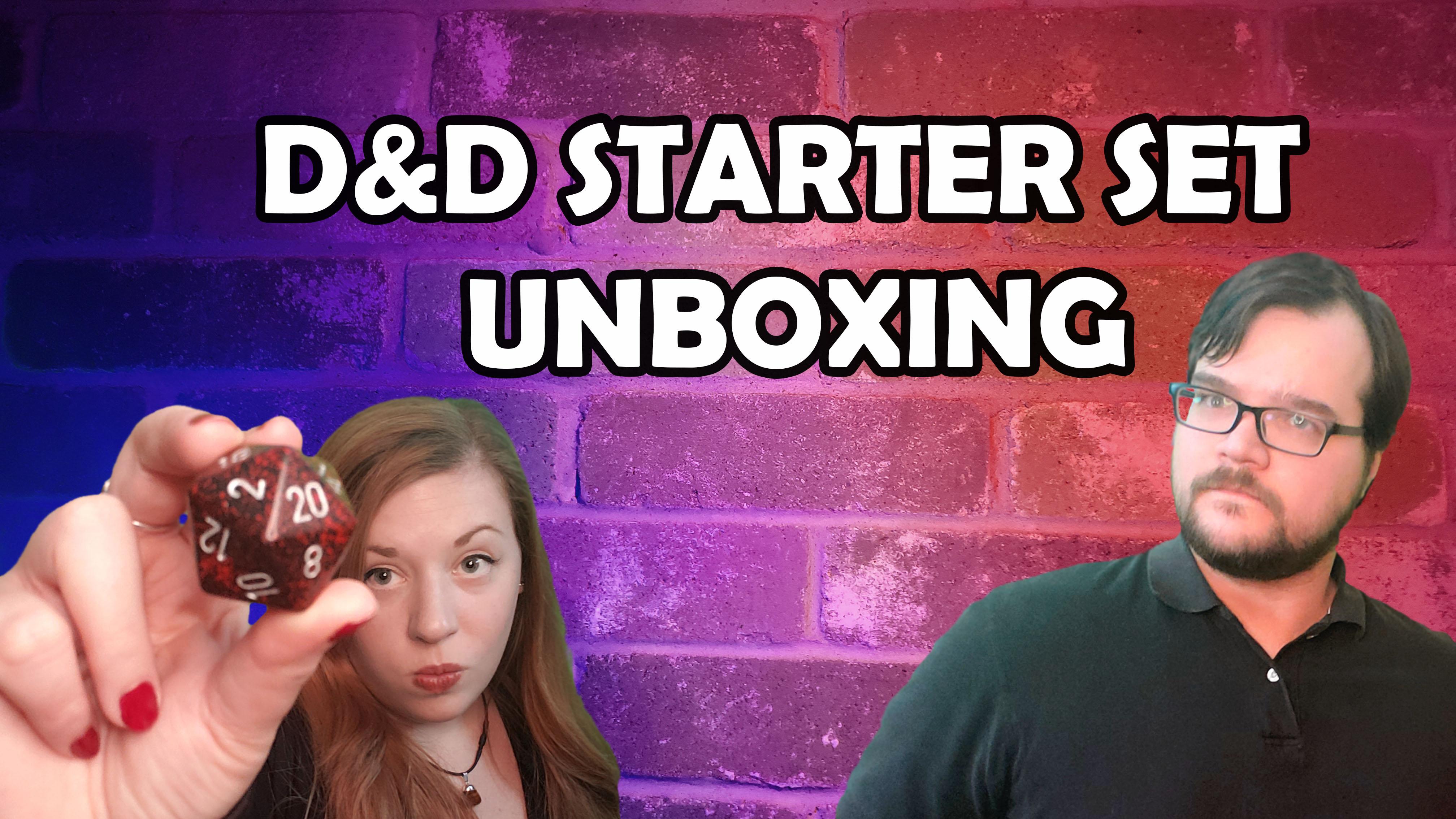 D&D Starter Kit Unboxing (How to DM 101 Part 2)