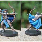 Painted Vex'ahlia Miniature from Critical Role Kickstarter