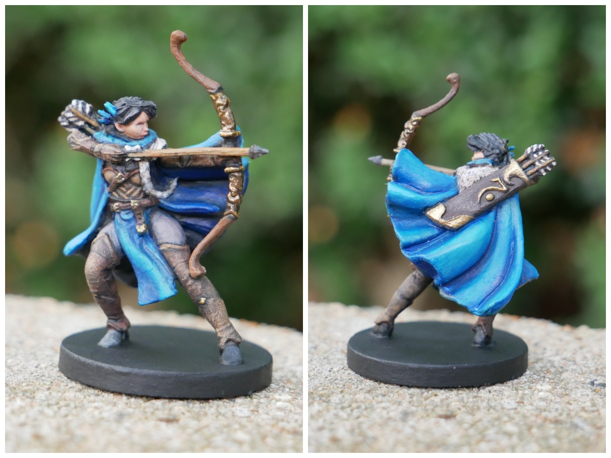 Painted Vex Miniature from Critical Role Kickstarter by Steamforged