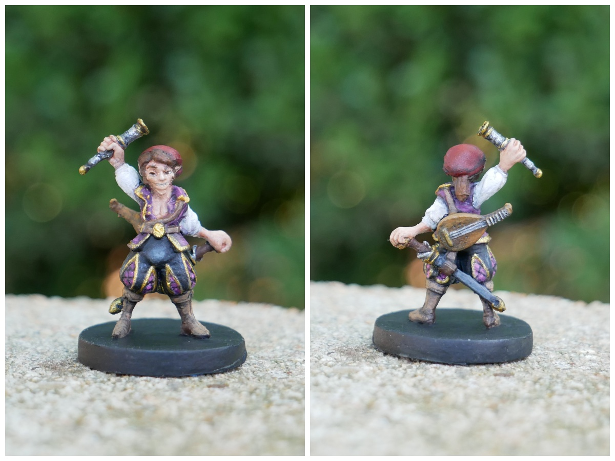 Painted Scanlan Miniature From Critical Role Kickerstarter By Steamforged A talented musician, master of disguise, and dashingly handsome in his own mind, scanlan. painted scanlan miniature from critical