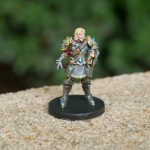 Taryon Darrington Painted Miniature from Critical Role Kickstarter by Steamforged